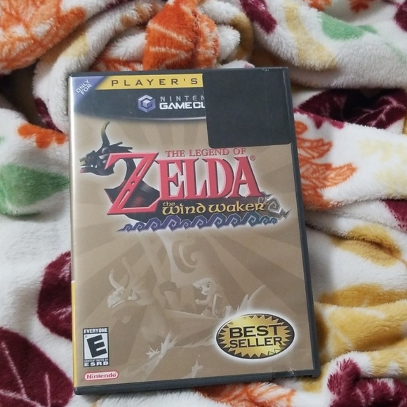 legend of zelda windwaker gamecube game